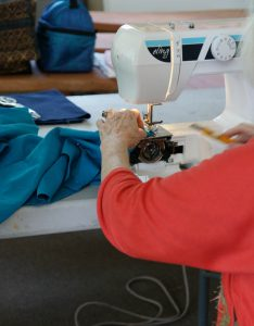 sewing repairs through the fixit cafe