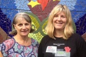 MNC Volunteer Co-ordinators Nancy & Rebecca