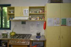 view of commercial kitchen